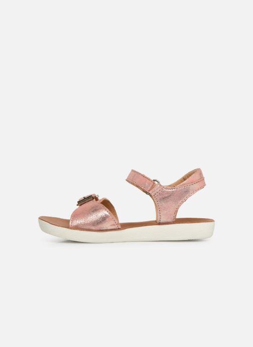 Sandales et nu-pieds Shoo Pom Goa Sandal Girl Argent vue face