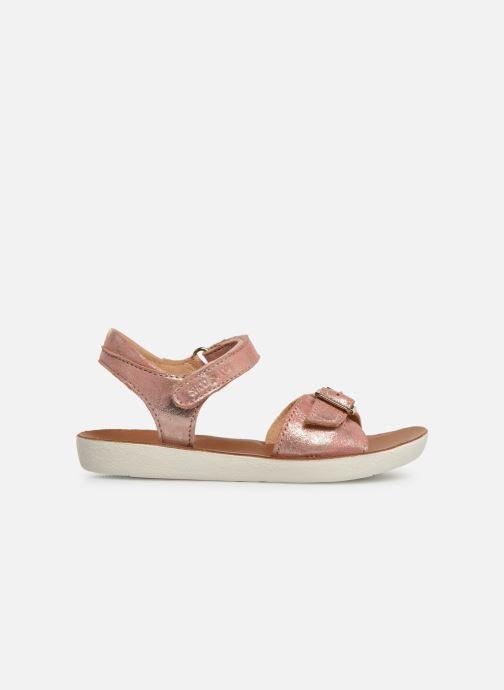 Sandales et nu-pieds Shoo Pom Goa Sandal Girl Argent vue derrière