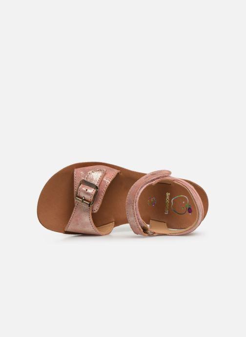 Sandales et nu-pieds Shoo Pom Goa Sandal Girl Argent vue gauche