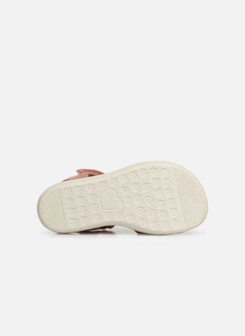 Sandales et nu-pieds Shoo Pom Goa Sandal Girl Argent vue haut