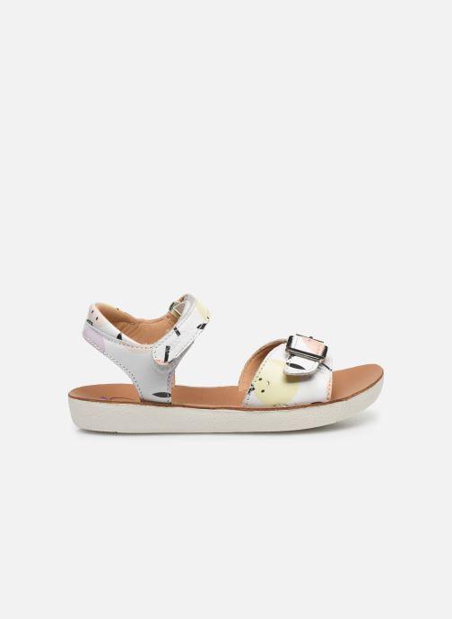 Sandali e scarpe aperte Shoo Pom Goa Sandal Girl Bianco immagine posteriore