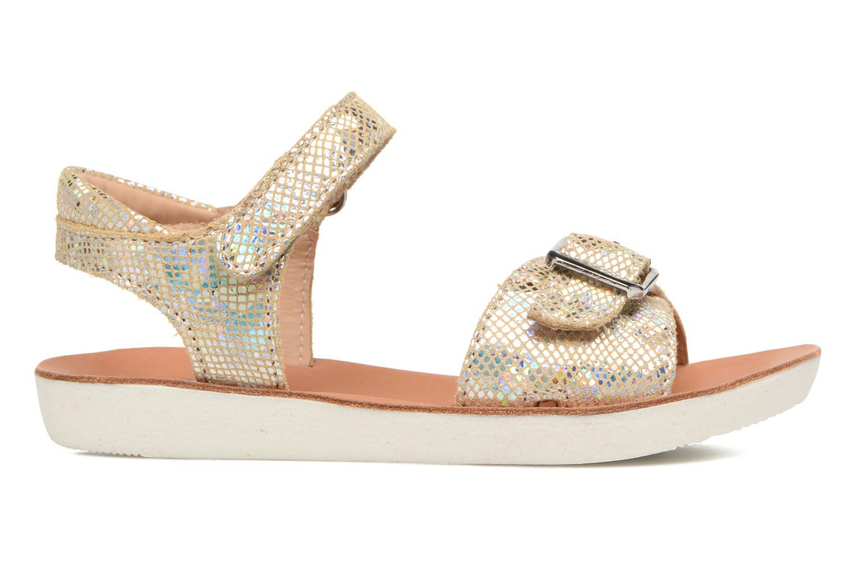 Sandales et nu-pieds Shoo Pom Goa Sandal Girl Or et bronze vue derrière