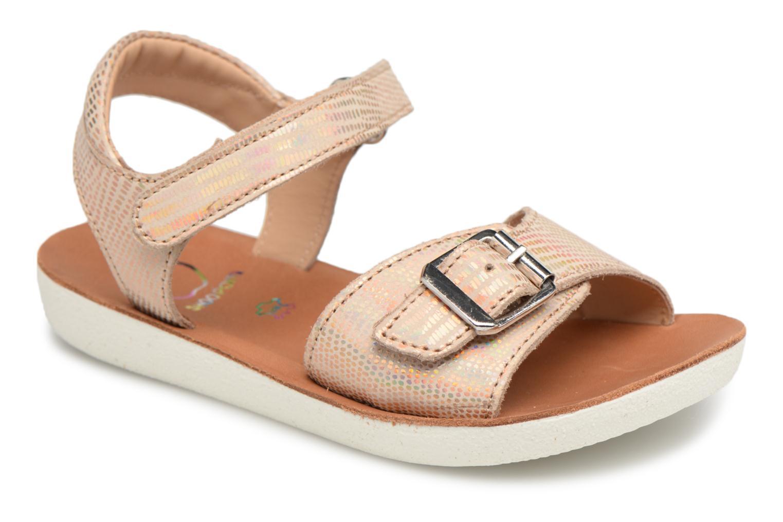 91b6d6c57b83 Shoo Pom Goa Sandal Girl (Bronze och Guld) - Sandaler på Sarenza.se (294025)