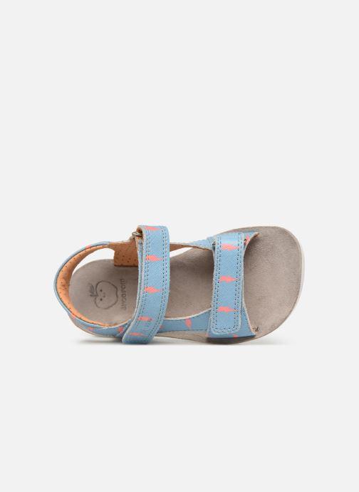 Et Scratch Boy Sandales Pom 353333 Shoo Nu Goa bleu pieds Chez wOtnYq