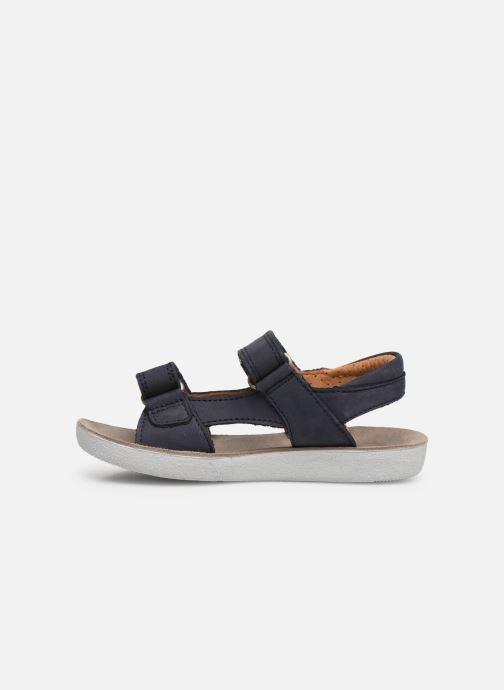 Sandales et nu-pieds Shoo Pom Goa Boy Scratch Bleu vue face