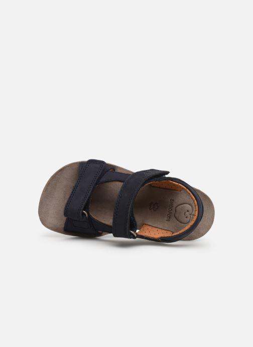 Sandales et nu-pieds Shoo Pom Goa Boy Scratch Bleu vue gauche