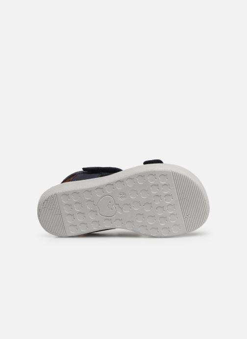Sandales et nu-pieds Shoo Pom Goa Boy Scratch Bleu vue haut