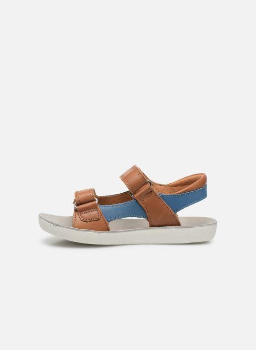 Sandales et nu-pieds Shoo Pom Goa Boy Scratch Marron vue face