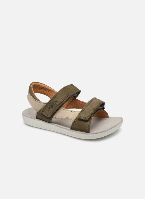 Sandales et nu-pieds Shoo Pom Goa Boy Scratch Vert vue détail/paire