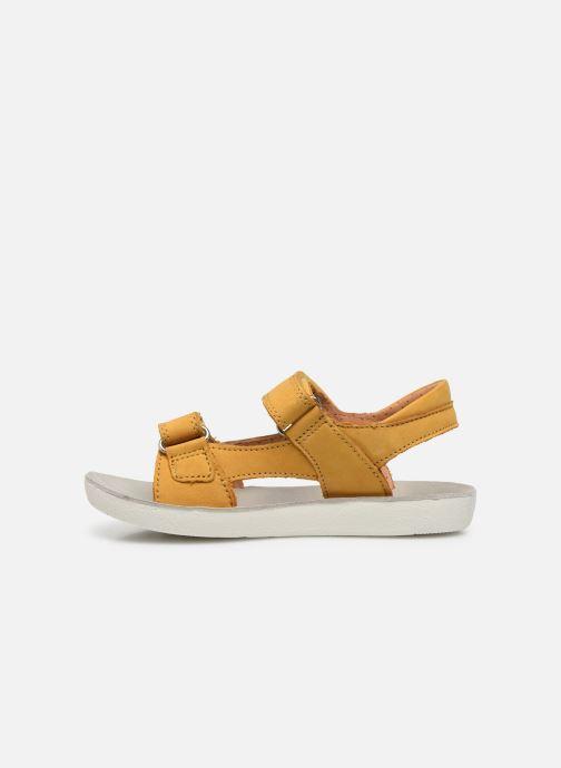 Sandales et nu-pieds Shoo Pom Goa Boy Scratch Jaune vue face