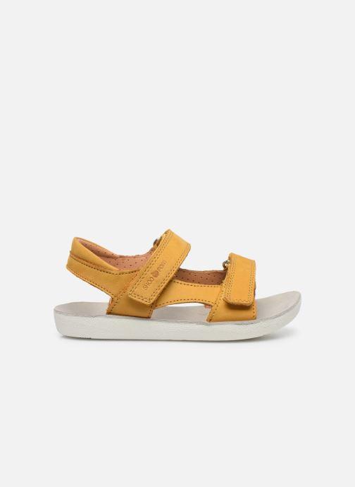 Sandalen Shoo Pom Goa Boy Scratch gelb ansicht von hinten