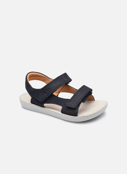 Sandales et nu-pieds Shoo Pom Goa Boy Scratch Bleu vue détail/paire