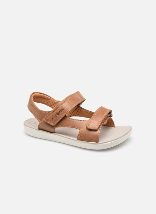 Sandales et nu-pieds Shoo Pom Goa Boy Scratch Marron vue détail/paire