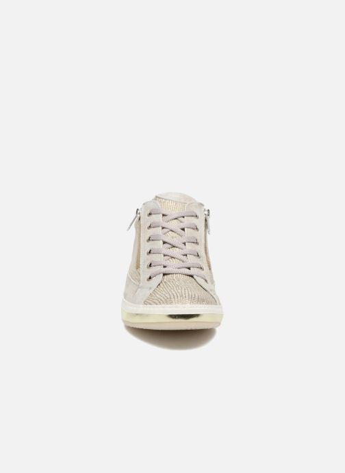 Baskets Khrio Giulia Argent vue portées chaussures