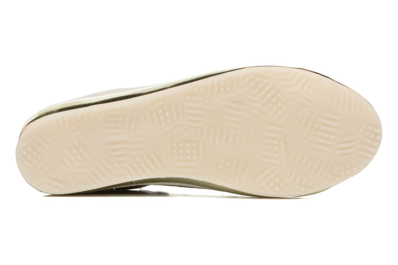 Sneaker Khrio Giulia silber ansicht von oben