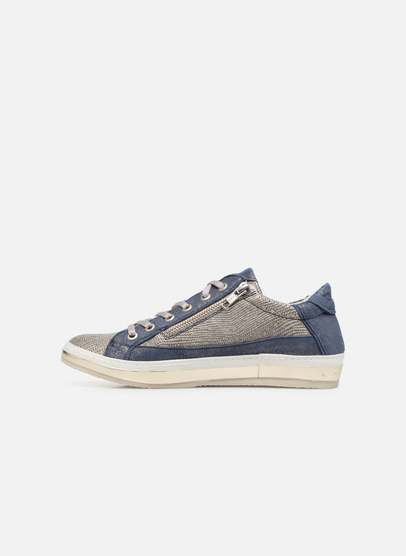 Sneakers Khrio Giulia Azzurro immagine frontale
