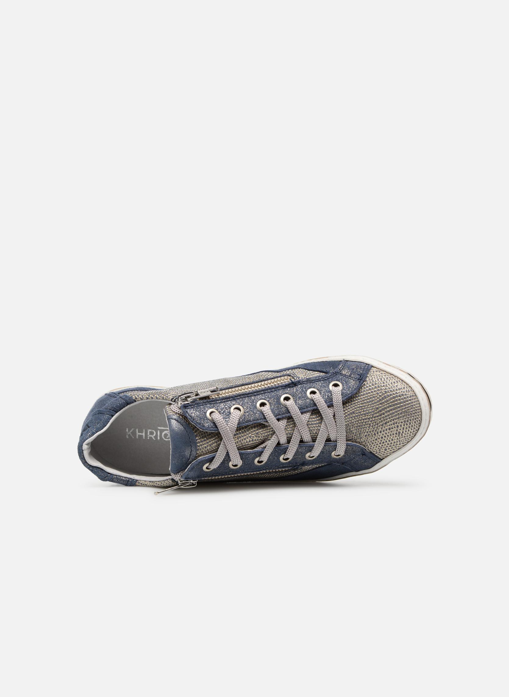 Sneakers Khrio Giulia Azzurro immagine sinistra
