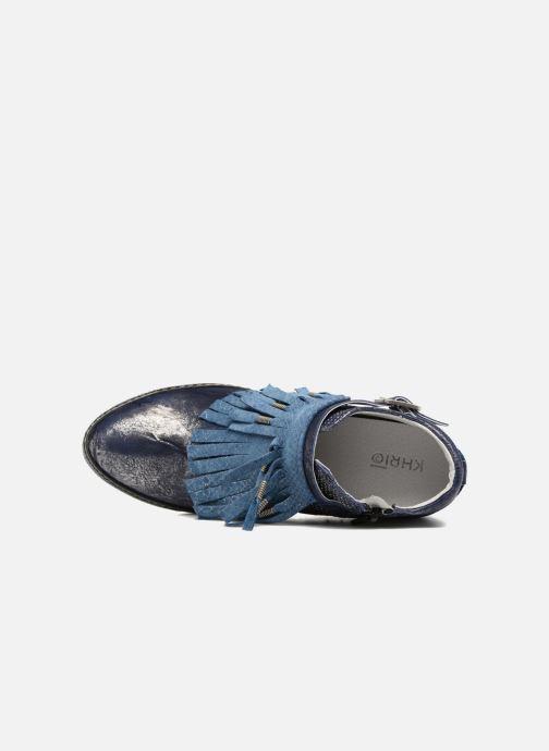 Sneakers Khrio Sofia Blauw links