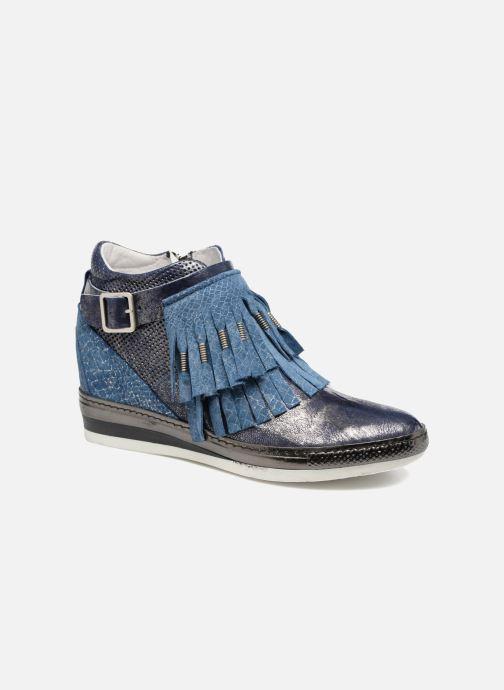 Sneakers Khrio Sofia Blauw detail