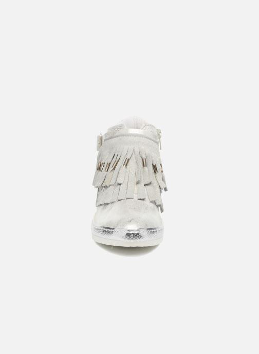 Baskets Khrio Sofia Argent vue portées chaussures