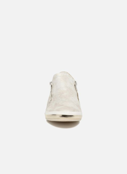 Trainers Khrio Slip-on Silver model view