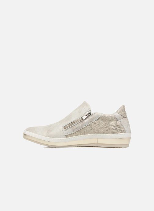 Trainers Khrio Slip-on Silver front view