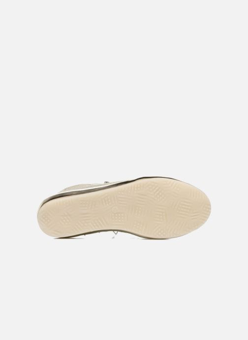 Trainers Khrio Slip-on Silver view from above