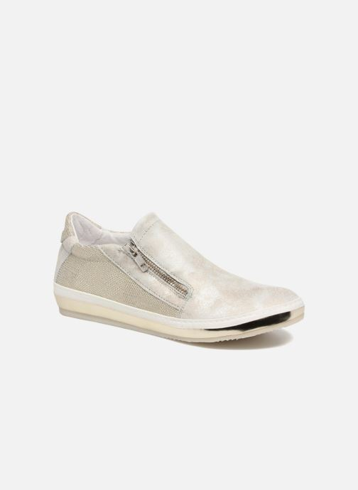Trainers Khrio Slip-on Silver detailed view/ Pair view