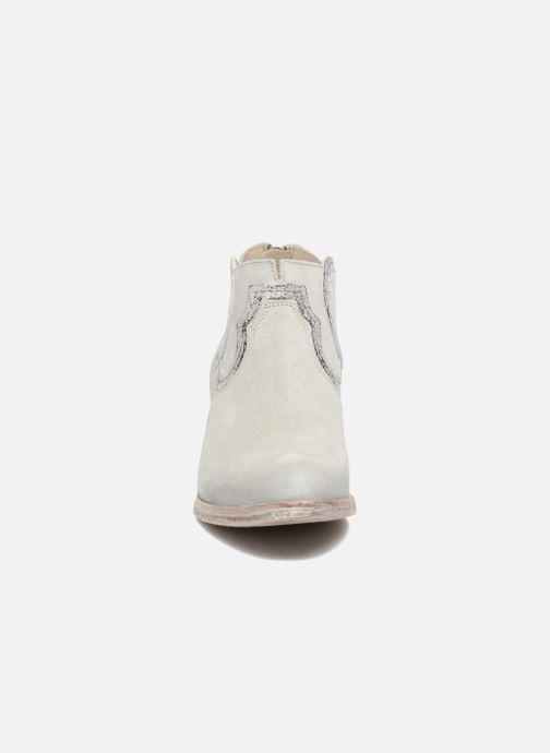 Bottines et boots Khrio Giorgia Beige vue portées chaussures