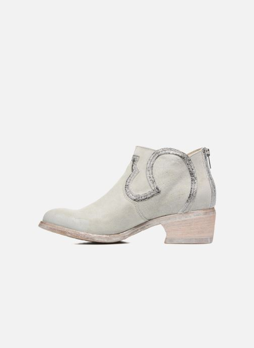 Ankle boots Khrio Giorgia Beige front view