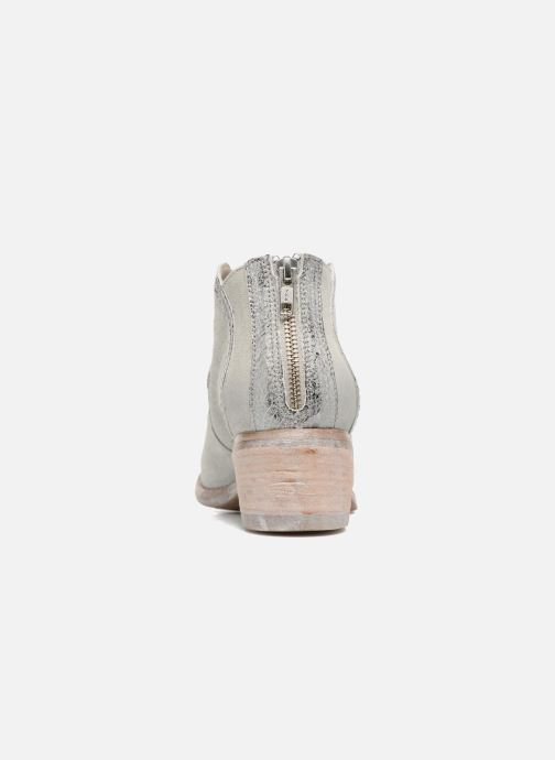 Ankle boots Khrio Giorgia Beige view from the right