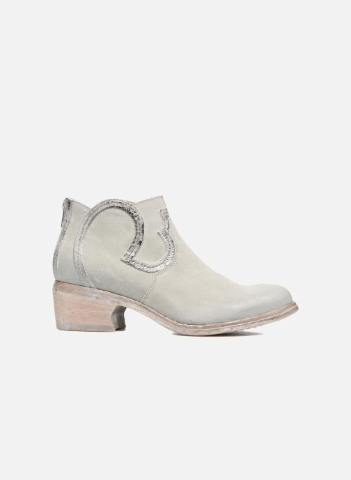 Ankle boots Khrio Giorgia Beige back view