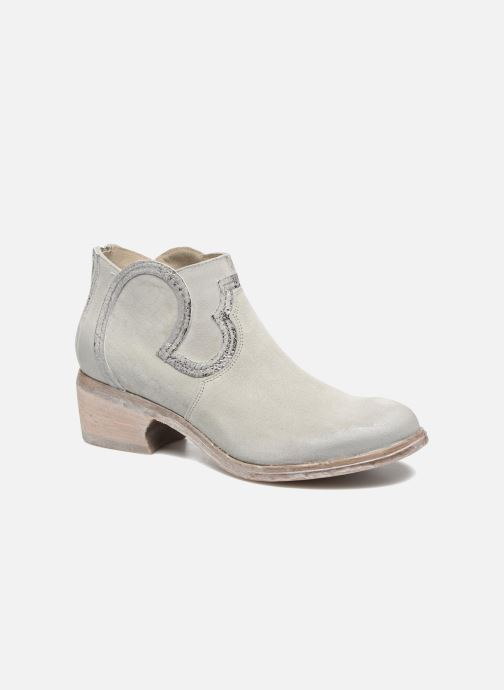Ankle boots Khrio Giorgia Beige detailed view/ Pair view