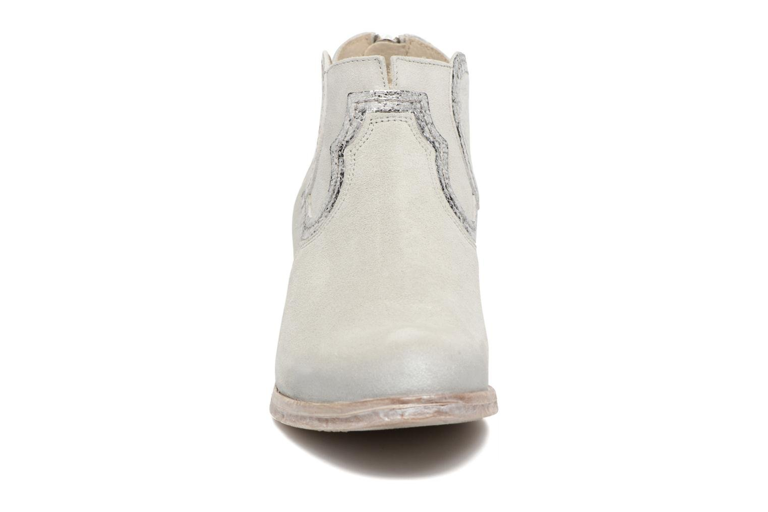 Ankle boots Khrio Giorgia Beige model view