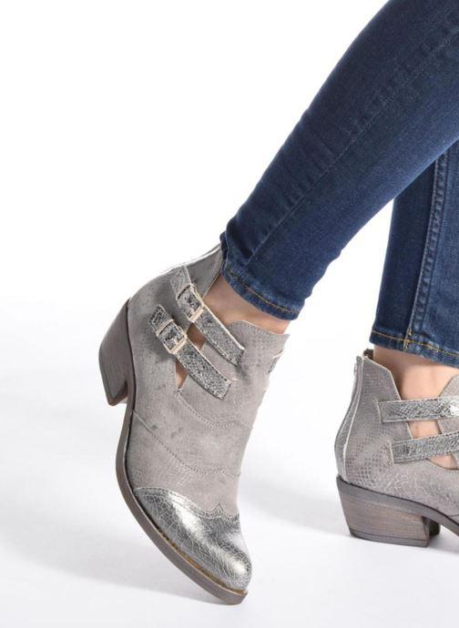 Bottines et boots Khrio Gaia Argent vue bas / vue portée sac