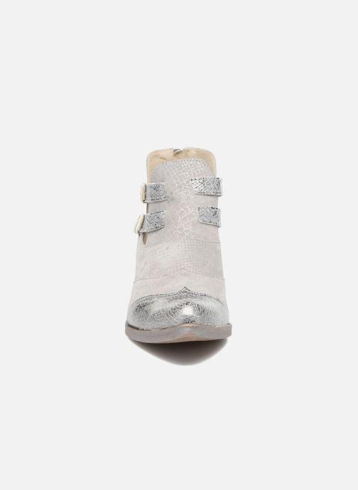 Bottines et boots Khrio Gaia Argent vue portées chaussures