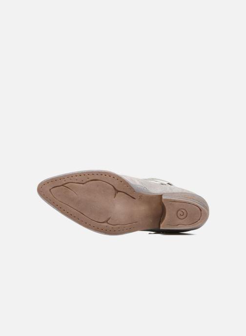 Bottines et boots Khrio Gaia Argent vue haut
