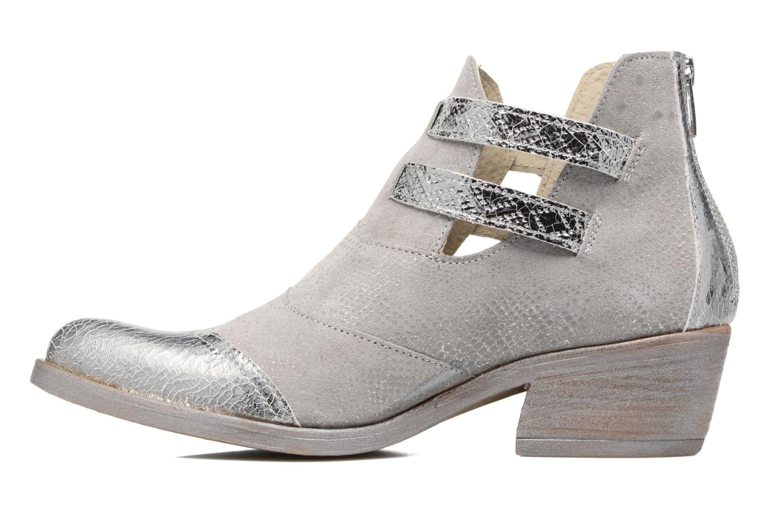 Ankle boots Khrio Gaia Silver front view