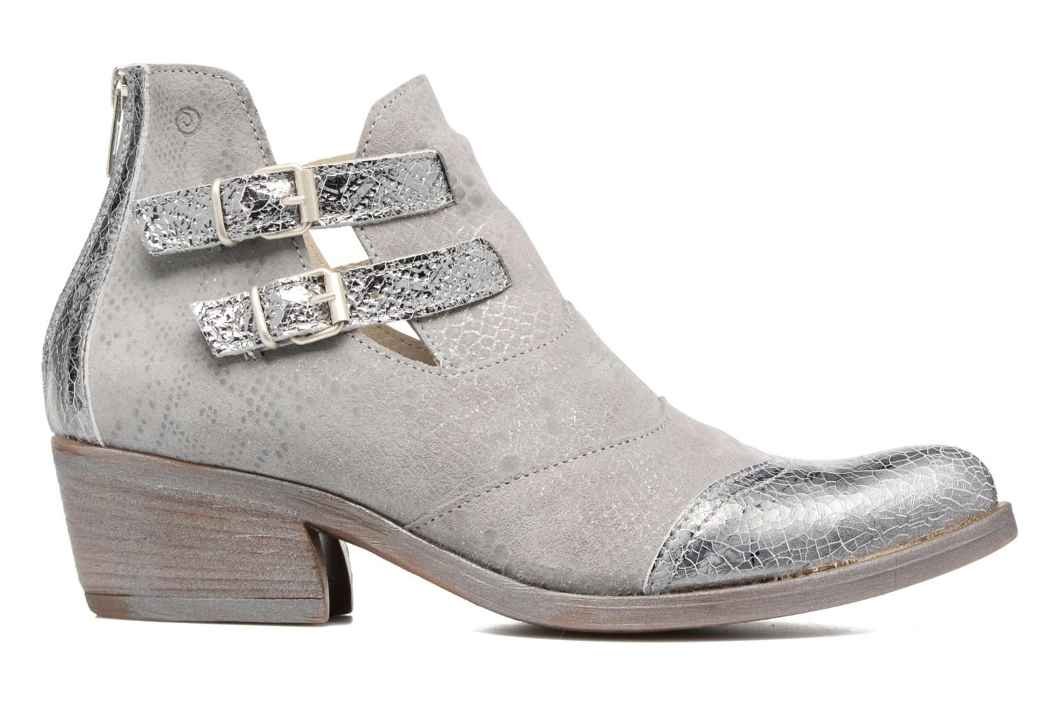 Ankle boots Khrio Gaia Silver back view