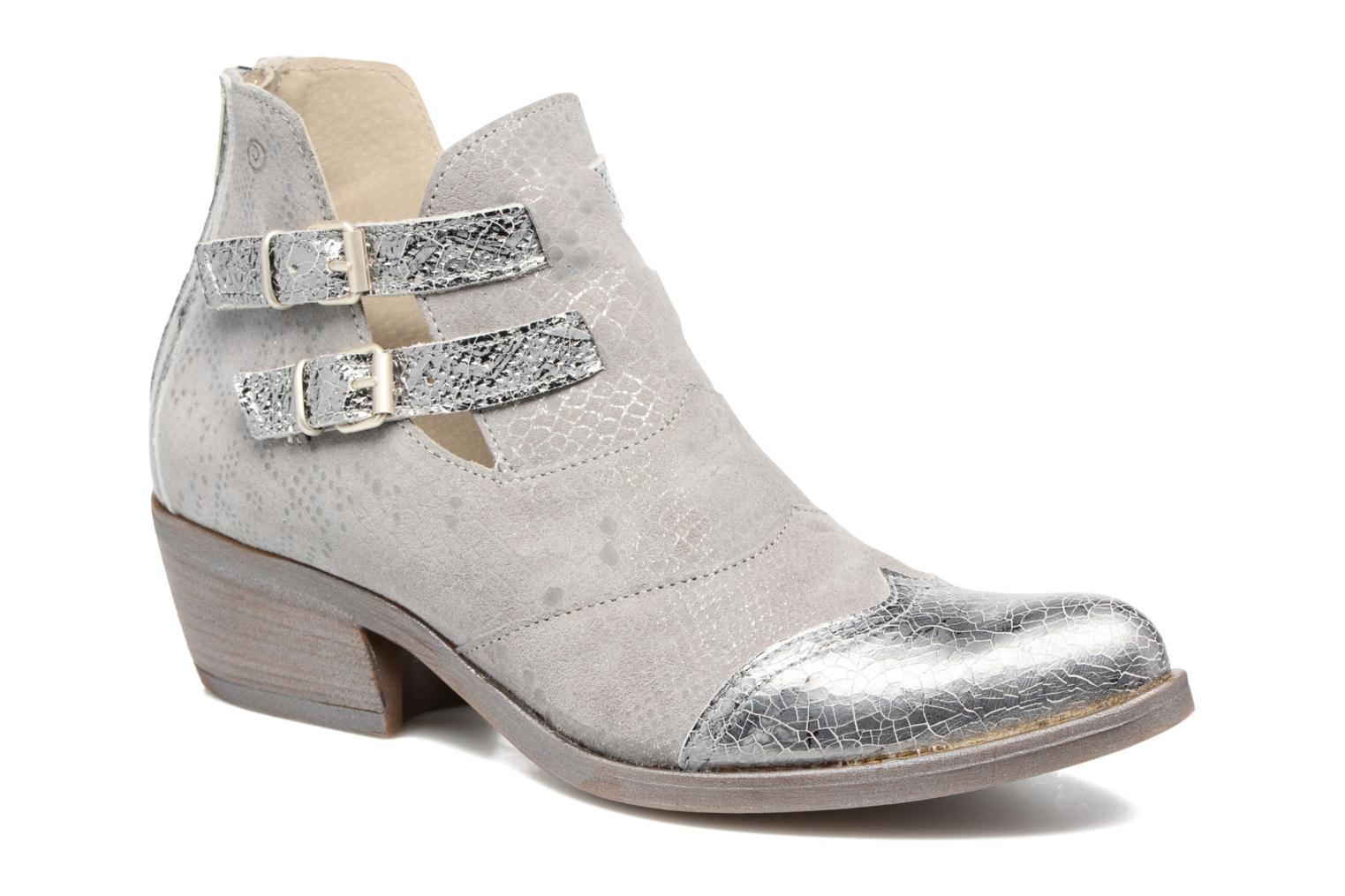 Ankle boots Khrio Gaia Silver detailed view/ Pair view
