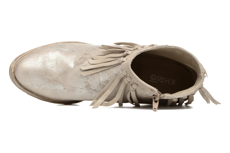Bottines et boots Khrio Ilaria Argent vue gauche