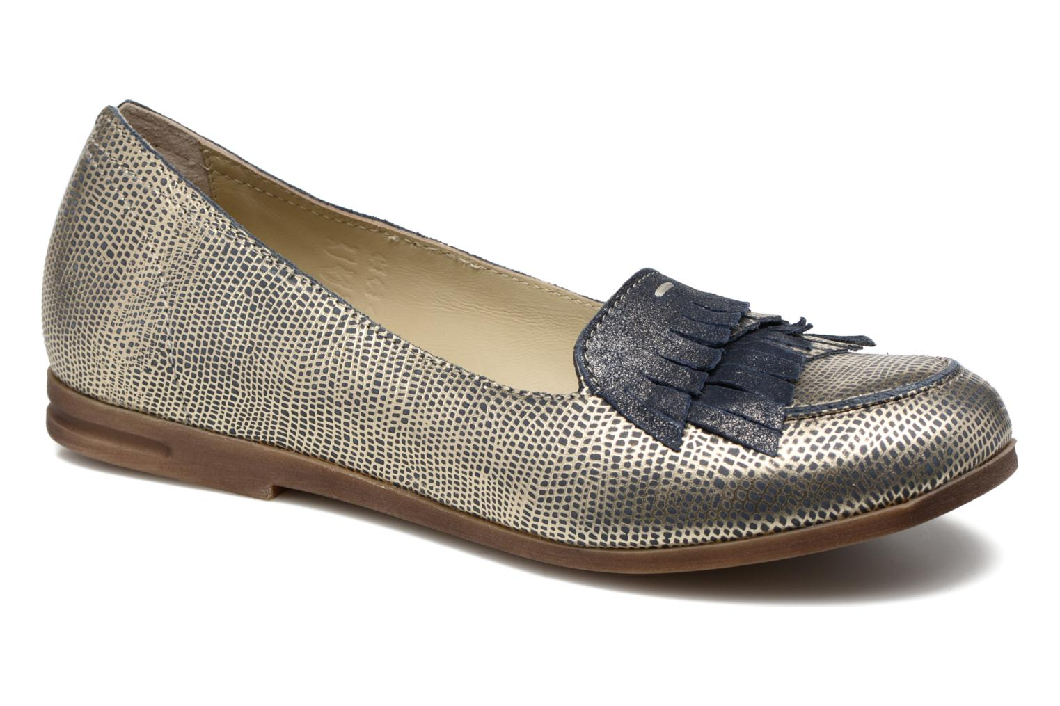 Loafers Khrio Adua Silver detailed view/ Pair view