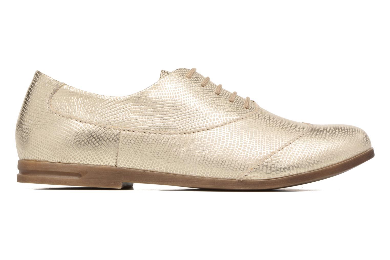 Zapatos con cordones Khrio Aitana Oro y bronce vistra trasera