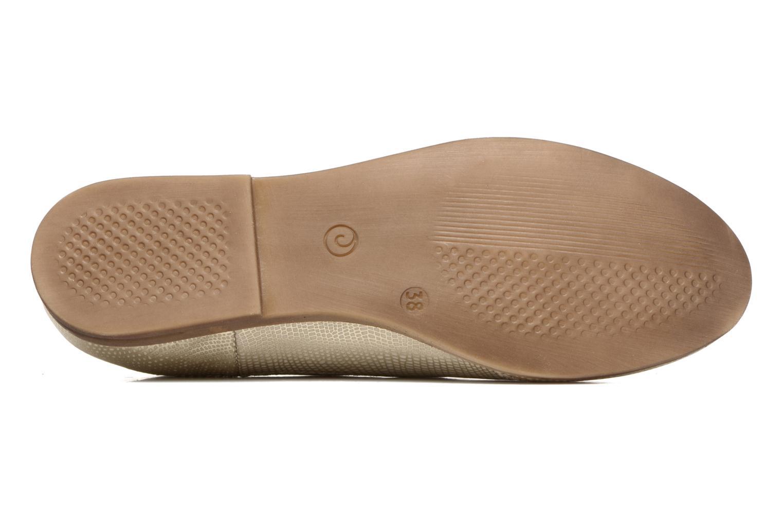 Chaussures à lacets Khrio Aitana Or et bronze vue haut