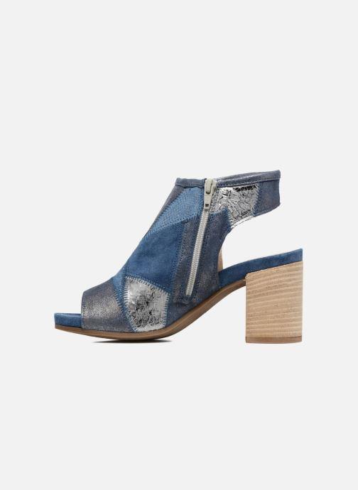 Sandales et nu-pieds Khrio Aurea Bleu vue face