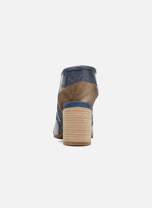 Sandales et nu-pieds Khrio Aurea Bleu vue droite