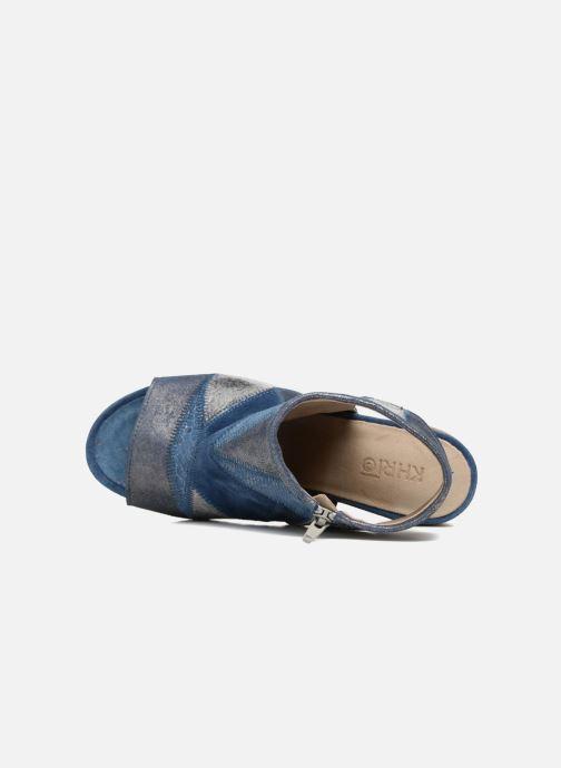 Sandalen Khrio Aurea Blauw links