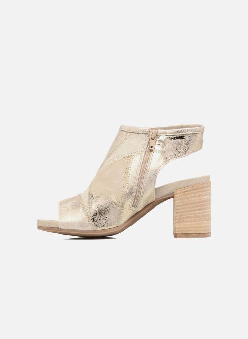 Sandales et nu-pieds Khrio Aurea Beige vue face
