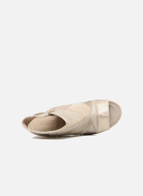 pieds Et Aurea Sandales Nu Khrio Patchwork Zecchino yYgvIb7f6m