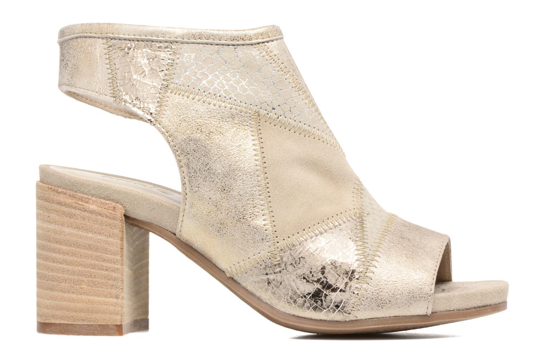 Sandales et nu-pieds Khrio Aurea Beige vue derrière